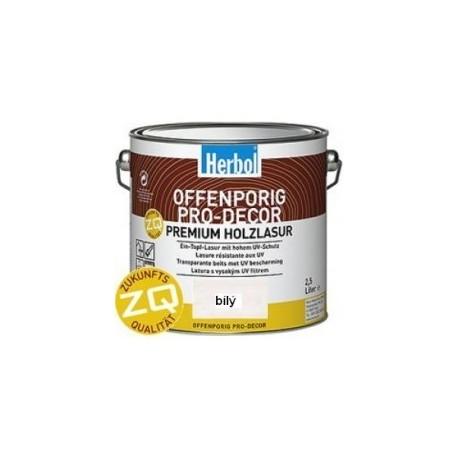 Herbol Offenporig Pro-Décor ZQ lazura 15 odstínů 0,75l