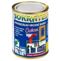 Sokrates colour 0530 pololesk 0.7kg světle zelená