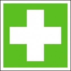 Symbol - první pomoci 105x105 mm - samolepící