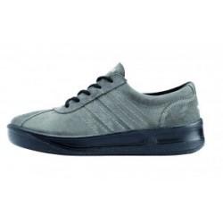 Sportovní obuv PRESTIGE AIR, velurová šedá kůže M20030