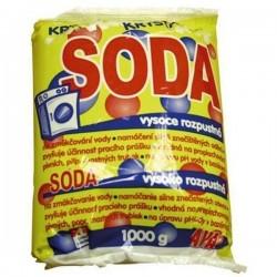 SODA krystalická na změkčení vody 1kg