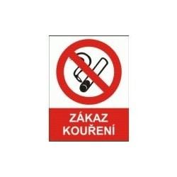 Zákaz kouření 210x297 mm - samolepící