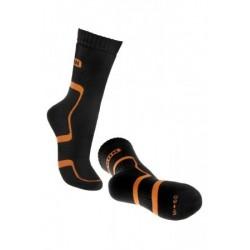 Trekové ponožky BENNON černo-oranžové