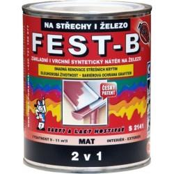 FEST- B S2141-0570 zel. tmavá 0.8kg Barvy a laky Hostivař