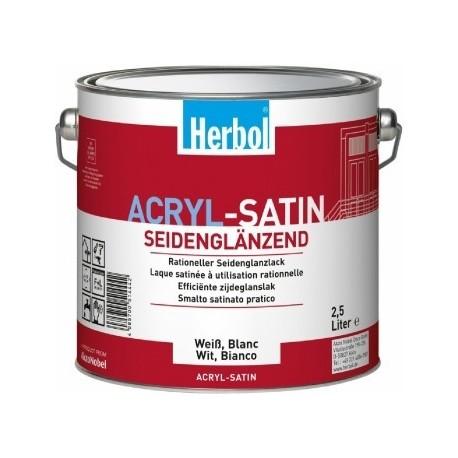 Herbol Acryl Satin Weiss 0,75 l