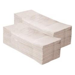 Papírové ručníky skládané šedé STANDARD karton