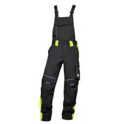 Ardon kalhoty lacl  NEON černo-žluté zkrácené