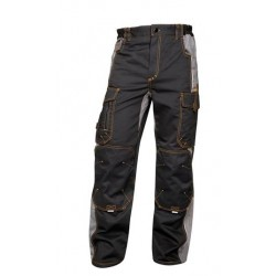 Ardon kalhoty pas VISION 02 černo-šedé,182cm H9110/46