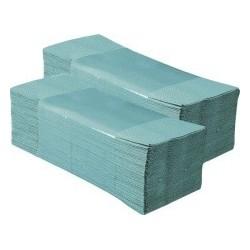 Papírové ručníky ZZ STANDARD zelené balení