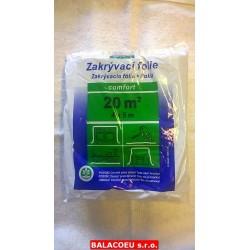 Zakrývací fólie 4x5m HDPE comfort 30MY Mako