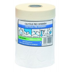CQ folie s lepící papírovou páskou 2700 mm x 20 m pro interiery Mako