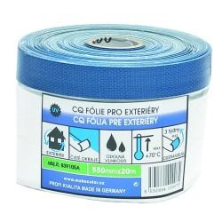 CQ folie s lepící papírovou páskou 1100 mm x 20 m pro exteriery Mako